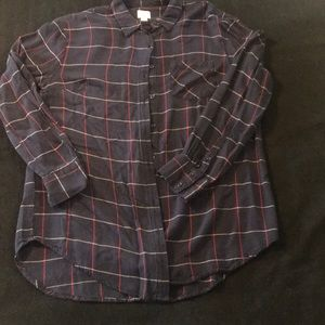 A New Day flannel top!